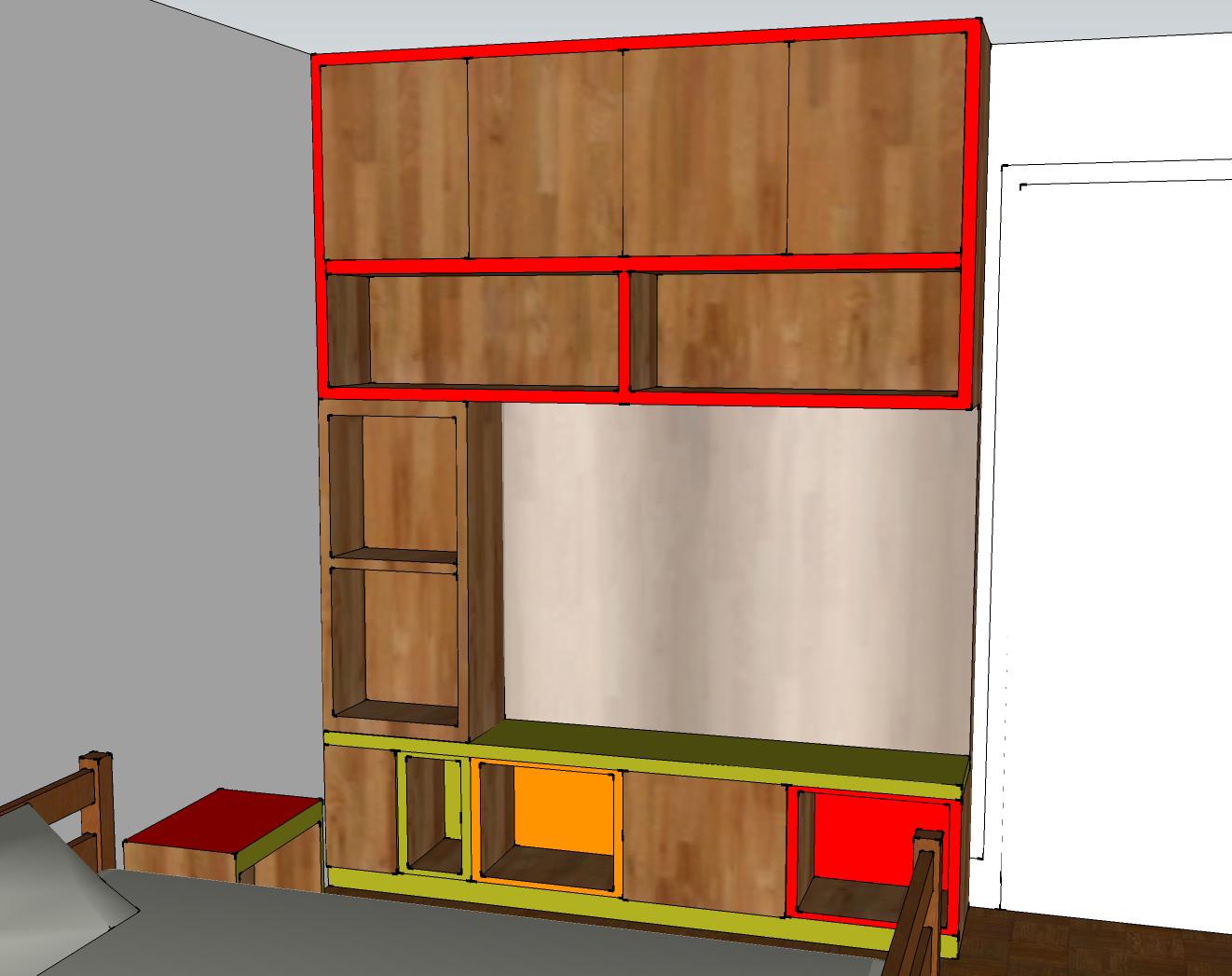 Chambre à coucher – arlinea architecture