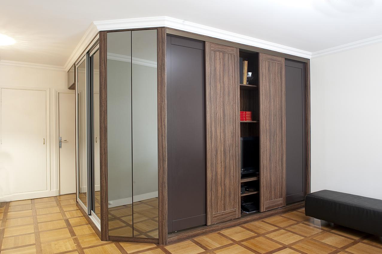 gain de place – Arlinea Architecture -> Rangement Tele Et Sono