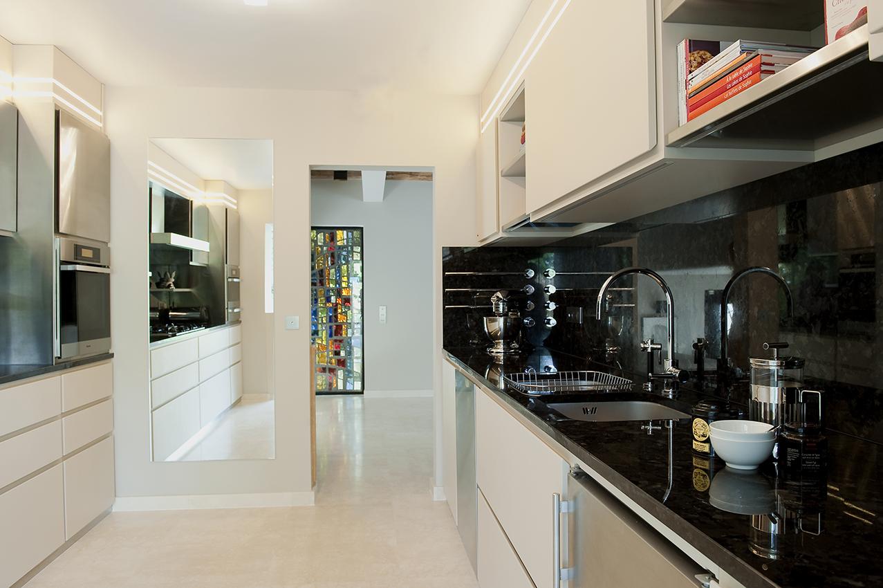 Maison arlinea architecture for Cuisine ouverte jardin