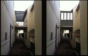 Veranda terrasse : avant travaux et modélisation