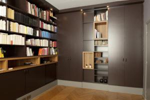 Création d'un bureau en sous-sol